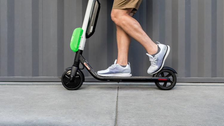 Lime Scooter Page